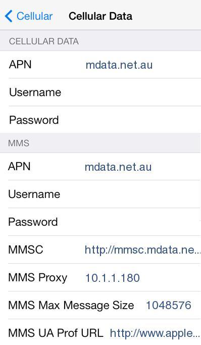 ALDI talk APN Settings for iPhone 6S 6 5 4S 4and iPad
