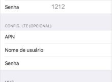 Configurar APN Algar Telecom no iPhone