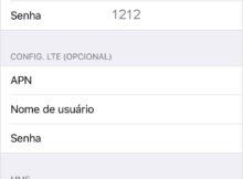 Configurar APN Algar Telecom no iPhone