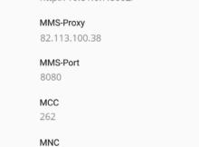 maXXim APN-Einstellungen für Android