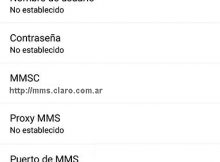 APN de Claro Argentina para Android 2017