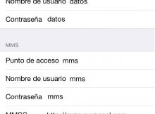 Configurar APN Personal Argentina para iPhone