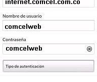 APN de Claro Colombia para Blackberry