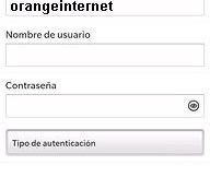 APN de Orange Dominicana para Blackberry