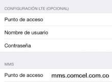 Configurar APN Claro Colombia para iPhone