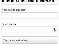 Configurar APN de Claro Dominicana para Blackberry