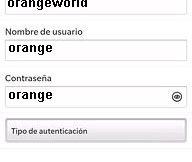 APN de Orange España para Blackberry