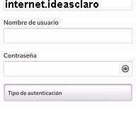 APN de Claro Nicaragua para Blackberry