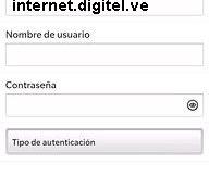APN de Digitel Venezuela para Blackberry