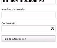 APN de Movilnet Venezuela para Blackberry