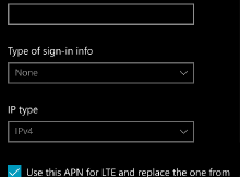 APN Bouygues 4G MMS Windows Phone Lumia