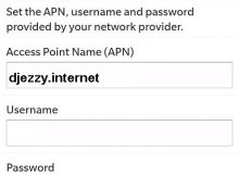 Configuration Internet Djezzy Pour Blackberry