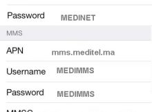 Configuration 4G APN Orange Maroc sur iPhone