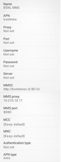 bsnl 4g apn settings for android 4g lte apn india rh apnsettings org H2O Internet Settings for Android Android Email Settings