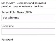 Vodafone India APN Settings for Blackberry 10