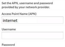 Setting APN Indosat Ooredoo di Blackberry