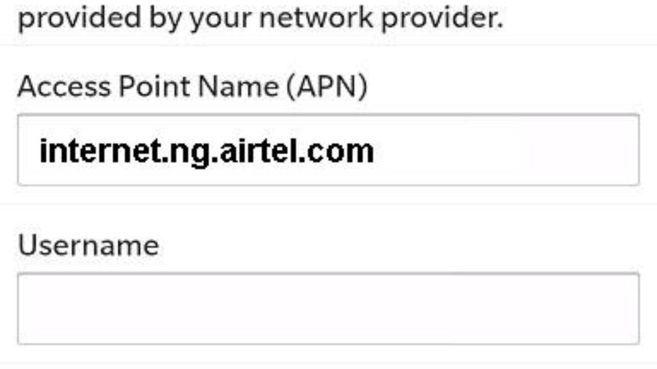 MCC MNC Code for Nigeria - 4G LTE APN Nigeria
