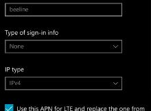 Настройка интернета билайн на Windows Phone