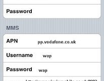 Virgin Mobile UK APN Settings for iPhone iPad