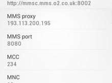 o2 apn settings android htc galaxy
