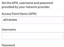 AirVoice Wireless Blackberry Internet APN Settings