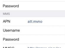 Airvoice APN Settings iPhone