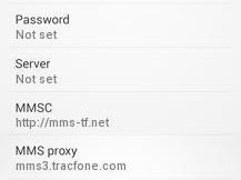 Straight Talk Internet and MMS Settings for Android