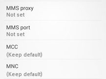 Tempo APN Settings for Android