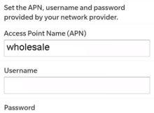 Ultra Mobile APN Settings for Blackberry