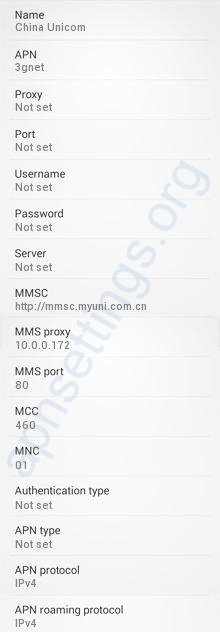 China-Unicom-3G-APN-Settings-for-Android