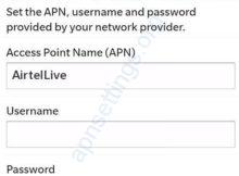 Airtel Srilanka Internet APN Settings for Blackberry[1]