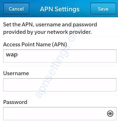 Etisalat Sri Lanka 3G APN Settings for Blackberry