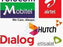 Mobile Network Operators in Sri Lanka