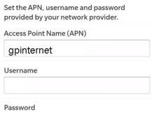 Grameenphone Blackberry Internet Settings
