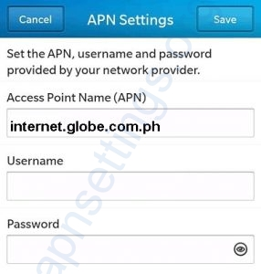 Globe LTE APN Settings for Android - APN Settings