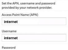 Mobilis Blackberry APN Settings Algeria