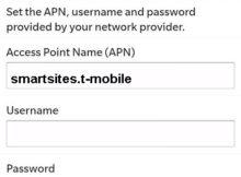 T-Mobile NL APN Instellingen Blackberry
