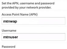 MTN Cameroon Blackberry Internet Settings