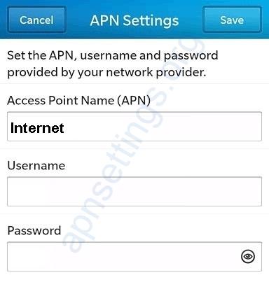 MTN Ghana Blackberry Internet Setting - APN Settings