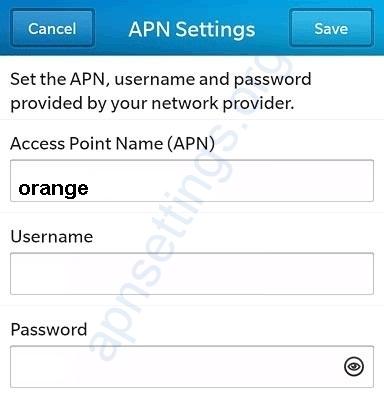 Orange Mauritius Blackberry Internet