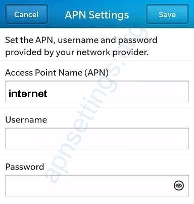 TNM Malawi Internet Settings blackberry